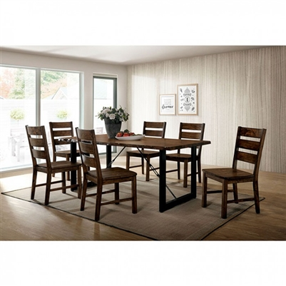 Dulce 7 Piece Dining Table Set by Furniture of America - FOA-CM3604T