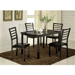 Colman 5 Piece Dining Room Set by Furniture of America - FOA-CM3615T-48