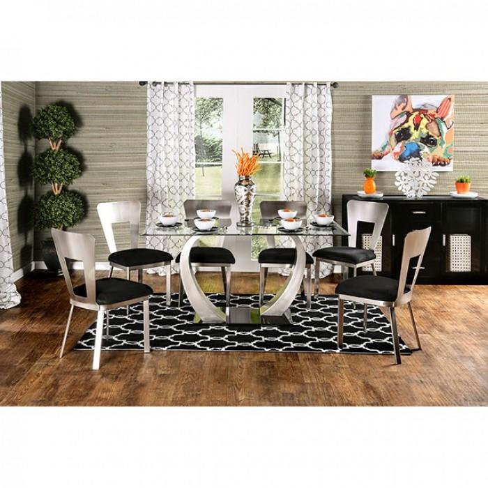 Nova 7 Piece Dining Room Set By Furniture Of America Foa Cm3728t