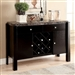 Gladstone I Server by Furniture of America - FOA-CM3823BK-SV