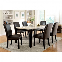 Gladstone I 7 Piece Dining Room Set by Furniture of America - FOA-CM3823T