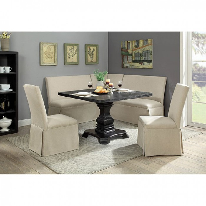 Nerissa 6 Piece Square Dining Table By Furniture Of America Cm3840t 48