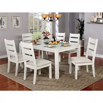 Glenfield 7 Piece Dining Table Set by Furniture of America - FOA-CM3882T