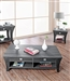 Amity 2 Piece Occasional Table Set in Gray by Furniture of America - FOA-CM4085-2PK
