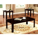 Harrison 3 Piece Occasional Table Set in Espresso by Furniture of America - FOA-CM4105EX-3PK