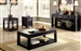 Meadow 2 Piece Occasional Table Set in Antique Black by Furniture of America - FOA-CM4327-2PK