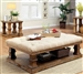 Granard 2 Piece Occasional Table Set in Natural Tone/Beige by Furniture of America - FOA-CM4457F-2PK