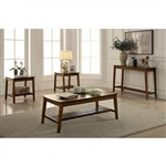 Hattie 3 Piece Occasional Table Set in Medium Oak by Furniture of America - FOA-CM4573-3PK