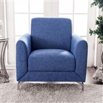 Lauritz Chair in Blue by Furniture of America - FOA-CM6088-CH
