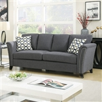 Campbell Sofa in Gray by Furniture of America - FOA-CM6095GY-SF