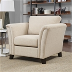 Campbell Chair in Ivory by Furniture of America - FOA-CM6095IV-CH