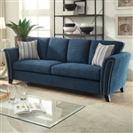 Campbell Sofa in Dark Teal by Furniture of America - FOA-CM6095TL-SF