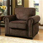 Rydel Chair in Brown by Furniture of America - FOA-CM6127-CH