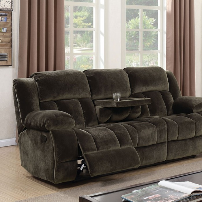 Sadhbh Recliner Sofa In Brown By