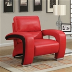 Wezen Chair in Red by Furniture of America - FOA-CM6412RD-CH