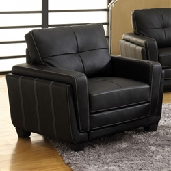Blacksburg Chair in Black by Furniture of America - FOA-CM6485-CH