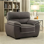 Elly Chair in Graphite by Furniture of America - FOA-CM6504-CH