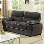 Elly Love Seat in Graphite by Furniture of America - FOA-CM6504-LV