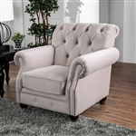 Tamika Chair in Beige by Furniture of America - FOA-CM6577-CH
