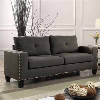 Attwell Sofa in Gray by Furniture of America - FOA-CM6594-SF