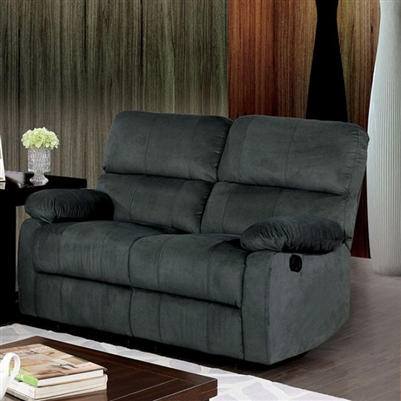 Bainville Love Seat in Gray by Furniture of America - FOA-CM6613-LV