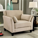 Ysabel Chair in Beige by Furniture of America - FOA-CM6716BG-CH