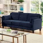Ysabel Sofa in Navy by Furniture of America - FOA-CM6716NV-SF