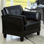 Pierre Chair in Black by Furniture of America - FOA-CM6717BK-CH
