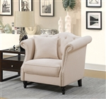 Rayna Chair in Beige by Furniture of America - FOA-CM6779-CH