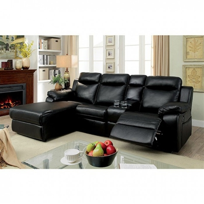 Hardy Sectional Sofa by Furniture of America - FOA-CM6781
