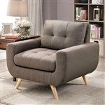 Livvy Chair in Mocha by Furniture of America - FOA-CM6800-CH