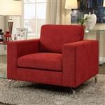 Kallie Chair in Red by Furniture of America - FOA-CM6848-CH