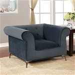 Gresford Chair in Gray by Furniture of America - FOA-CM6952-CH