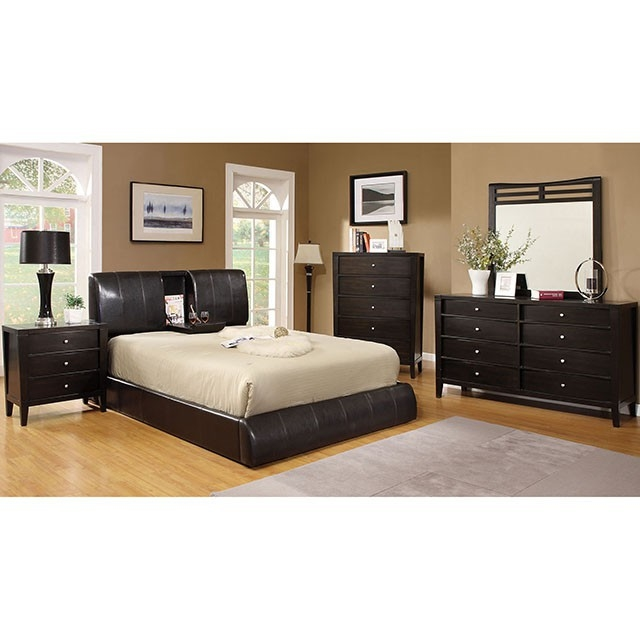 Webster 6 Piece Bedroom Set By Furniture Of America Foa Cm7027