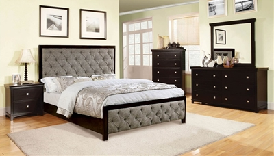 Asterion 6 Piece Bedroom Set by Furniture of America - FOA-CM7156