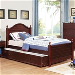Diane Twin Bed by Furniture of America - FOA-CM7158CH-B