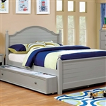 Diane Twin Bed by Furniture of America - FOA-CM7158GY-B
