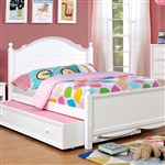 Dani Twin Bed by Furniture of America - FOA-CM7159WH-B