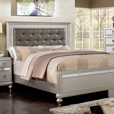 Avior Bed by Furniture of America - FOA-CM7170SV-B