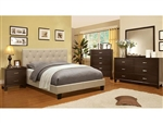 Leeroy 6 Piece Bedroom Set by Furniture of America - FOA-CM7200IV