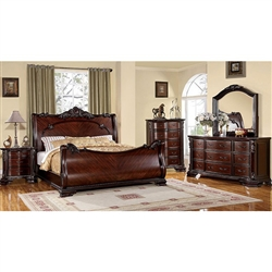 Bellefonte 6 Piece Bedroom Set by Furniture of America - FOA-CM7277