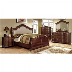 Bellavista 6 Piece Bedroom Set by Furniture of America - FOA-CM7350H