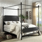 Beatrix Bed in Bronze Finish by Furniture of America - FOA-CM7424BR-B