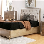 Celine Bed by Furniture of America - FOA-CM7432-B