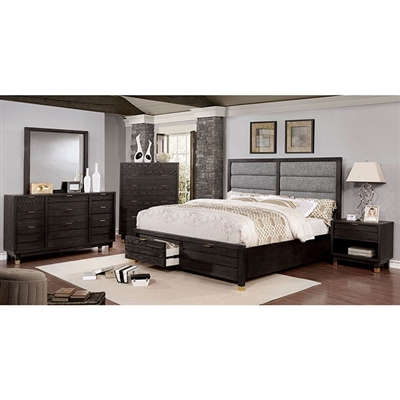 Bryony 6 Piece Bedroom Set by Furniture of America - FOA-CM7511DR
