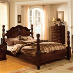Tuscan II Bed by Furniture of America - FOA-CM7571-B