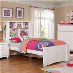 Marlee Twin Bed by Furniture of America - FOA-CM7651WH-B