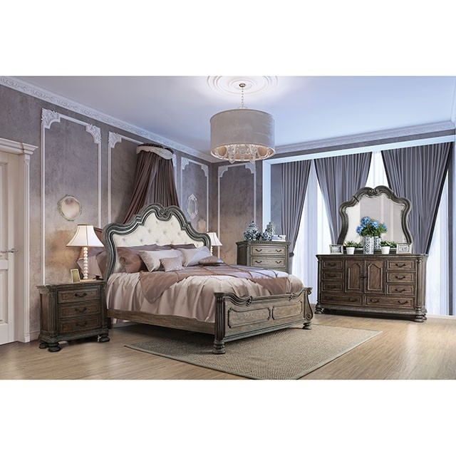 Ariadne 6 Piece Bedroom Set by Furniture of America - FOA-CM7662