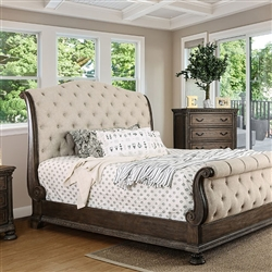 Lysandra Bed by Furniture of America - FOA-CM7663-B