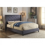 Anabelle Bed by Furniture of America - FOA-CM7677BL-B